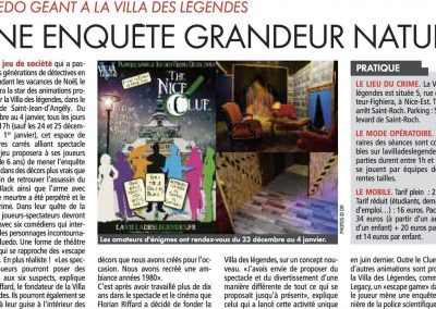 article Cnews Matin Nice - 19 12 19 - the nice clue