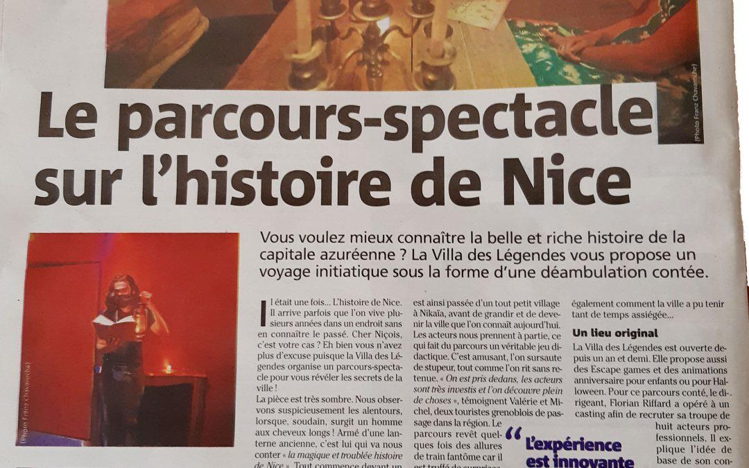 Nice-Matin – Les Légendes Contées de Nice